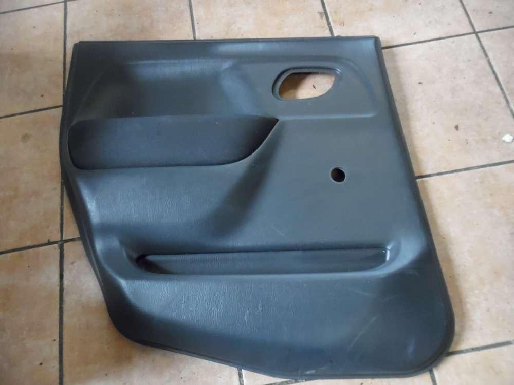 Opel Agila A Türverkleidung Türpappe Hinten Links 09204570