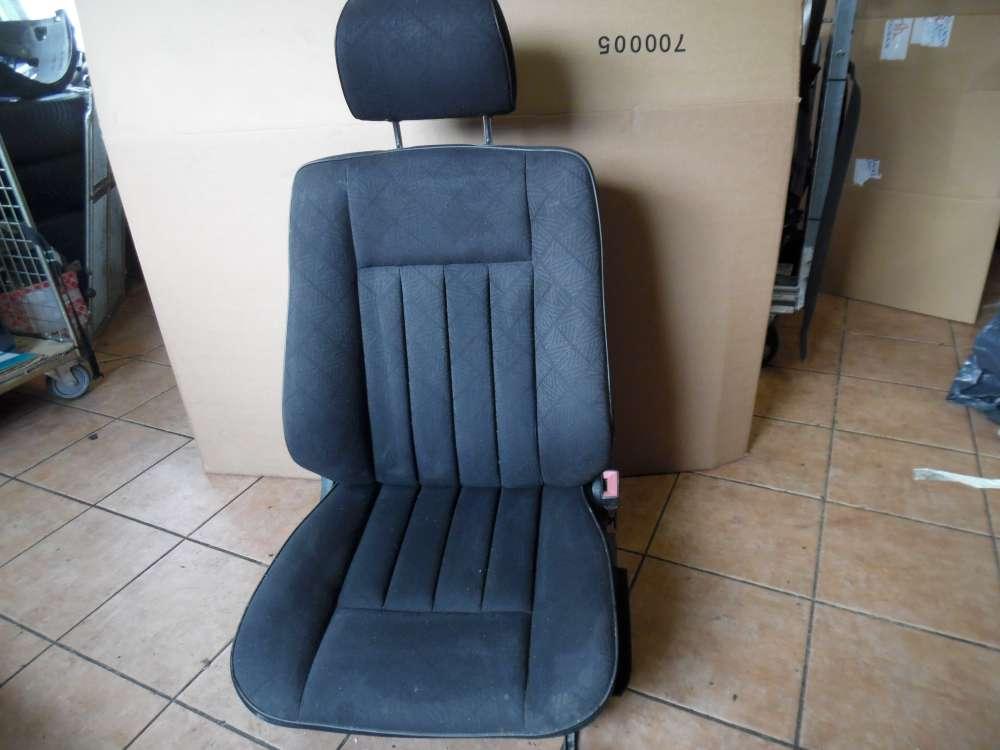 Mercedes-Benz A-Klasse W124 Sitz Beifahrersitz Vorne Rechts grauu Stoff