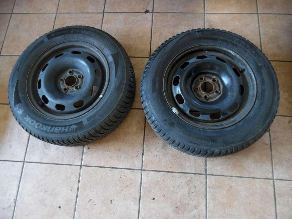 2 X Stahlfelge mit Reifen Hankook Winter für VW Golf 4 6Jx15H2  195/65R1595T  ET38  1J0601027