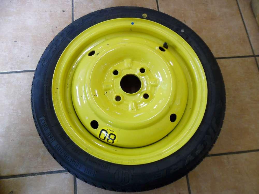Nissan Pixo Notrad Ersatzrad 4Tx14/ 54AR4  T115/70R14 88M