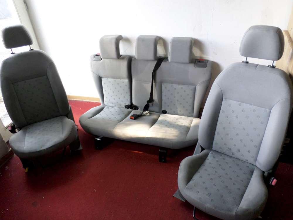 Ford Fiesta Sitze Komplett Fahrersitz Beifahrersitz Rücksitzbank