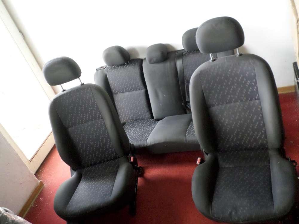 Sitze Komplett Ford Focus, Bj. 98-04, schwarz grau