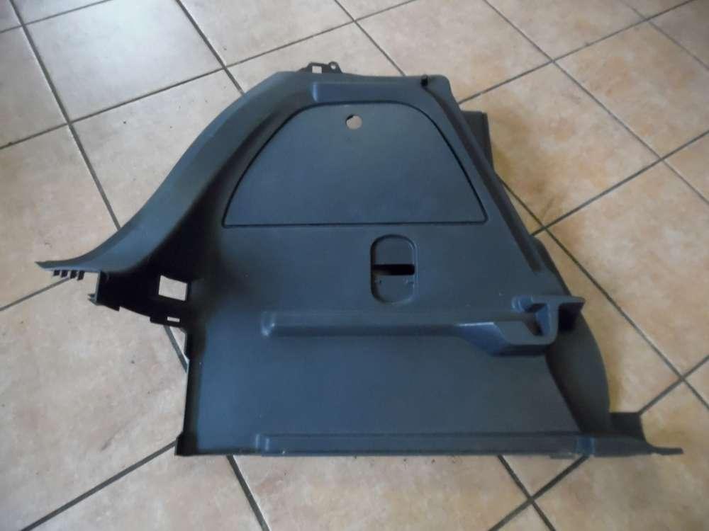 Opel Corsa D Kofferraum Verkleidung Abdeckung Hinten Links 13230173