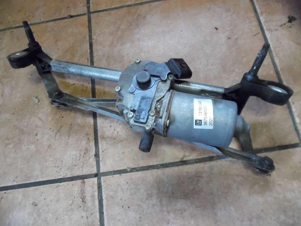 Opel Corsa D Wischermotor mit Gestänge Vorne 13182340