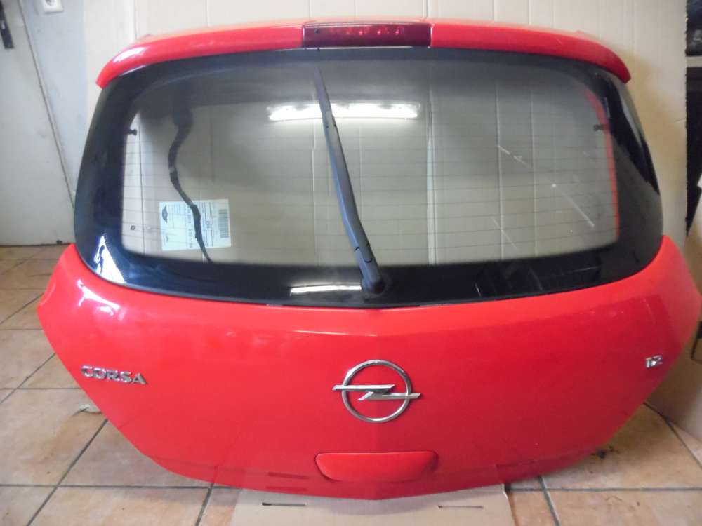 Opel Corsa D Heckklappe Rot Farbcode : Z547