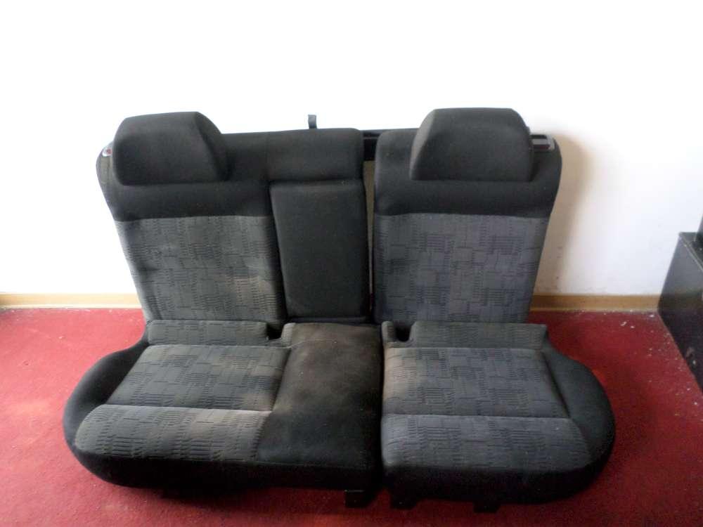 VW Passat Kombi Rücksitzbank Sitze hinten Komplett schwarz mit Gepäcknetz Rolle