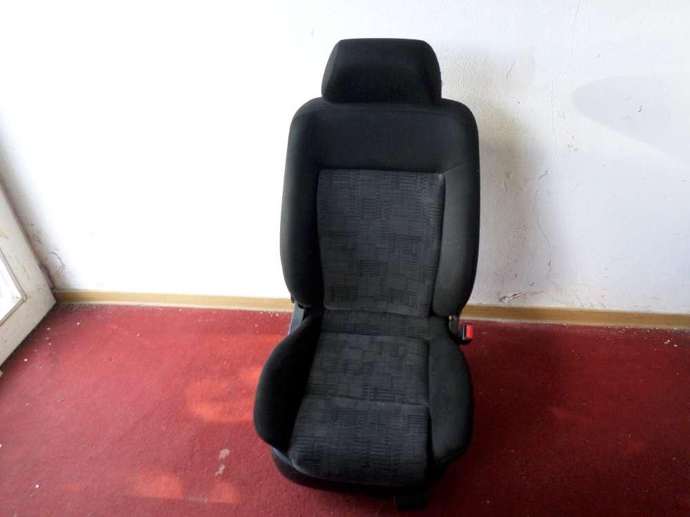 VW Passat Kombi 4 Türer Beifahrersitz Sitz vorne rechts schwarz