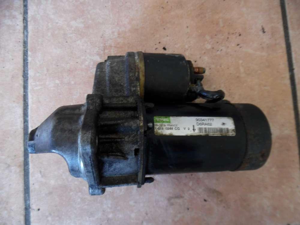 Opel Vectra B Anlasser 14A 90341777 D6RA62