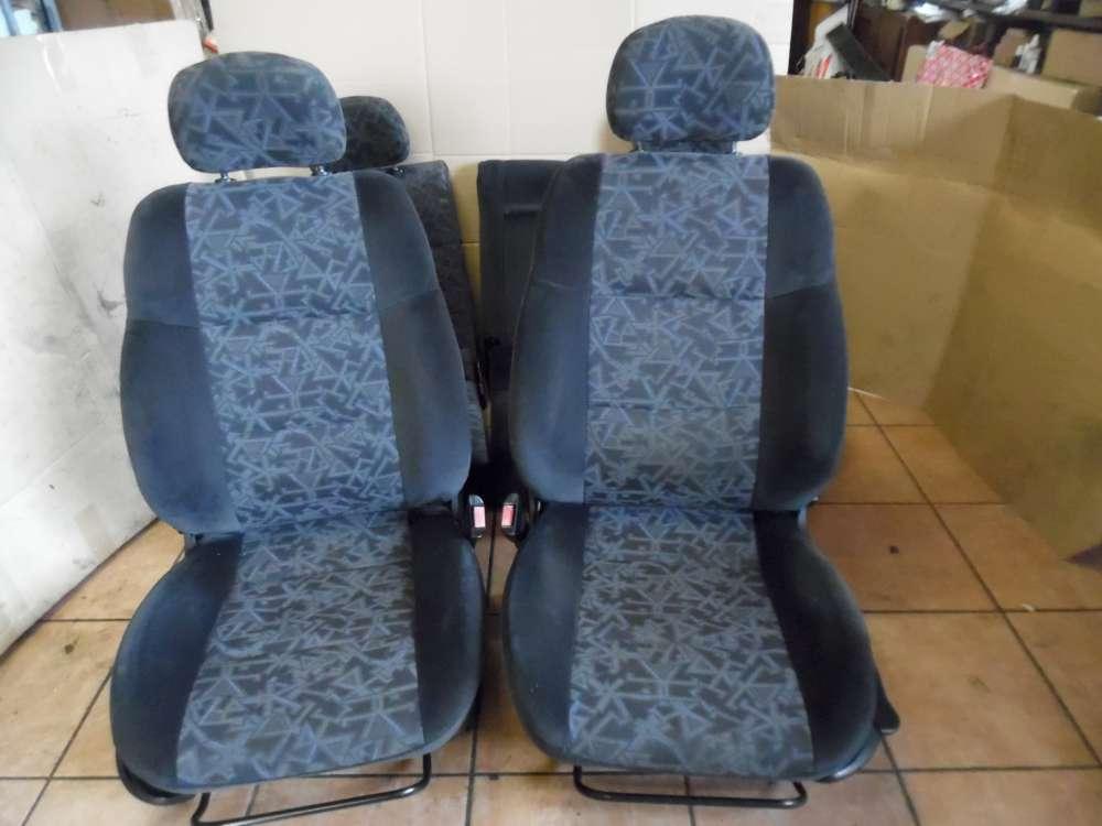 Opel Vectra B Innenaustattung Sitzgarnitur grau Stoff