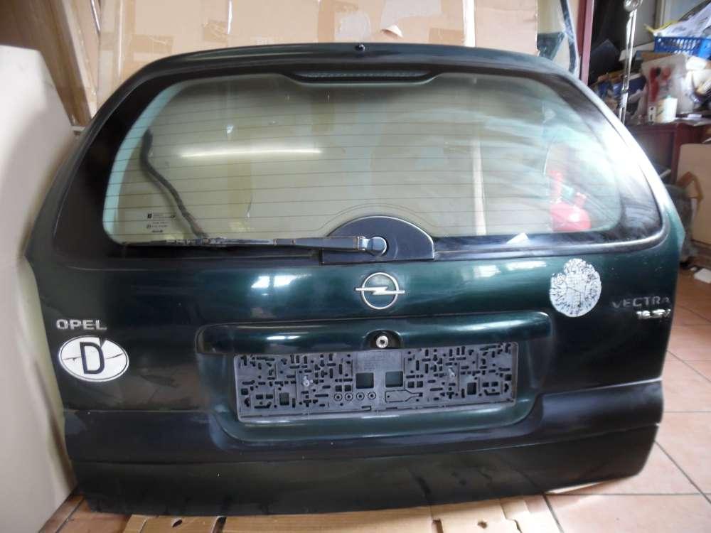 Opel Vectra B Heckklappe Kofferraumklappe grün Farbcod : 359