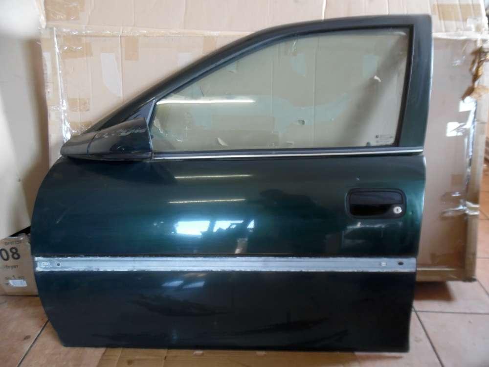 Opel Vectra B Kombi Tür Vorne Links grün Farbcod : 359