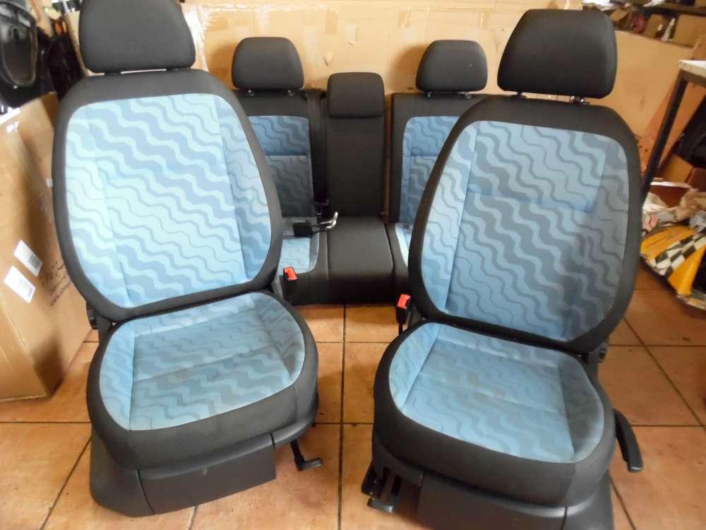 Skoda Fabia II Limousine Sitzausstattung Sitze Innenausstattung Stoff