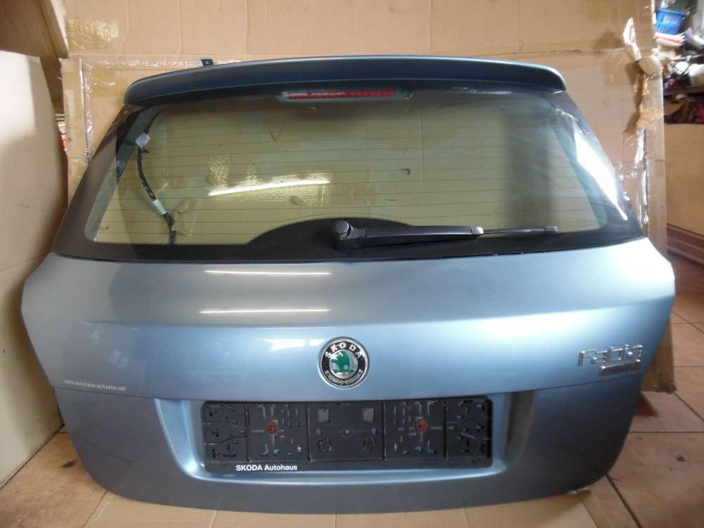 Skoda Fabia II Limousine Heckklappe Grau Farbcod: 9154