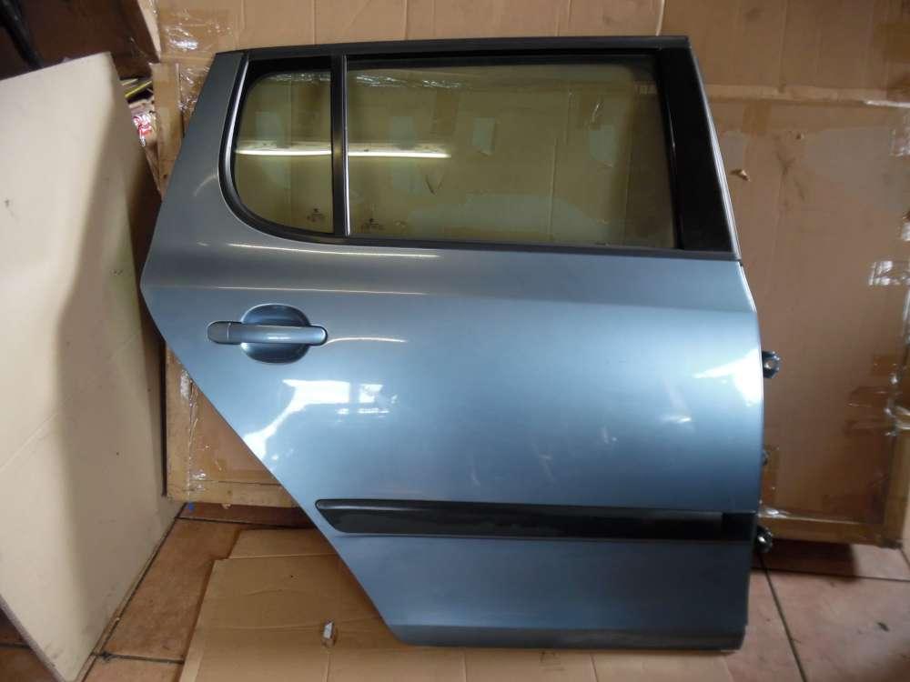 Skoda Fabia II Limousine Tür Hinten Rechts Grau Farbcod: 9154
