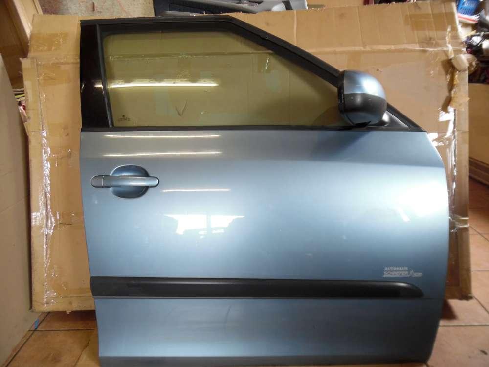 Skoda Fabia II Limousine Tür Vorne Rechts Grau Farbcod: 9154