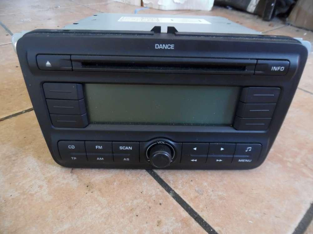 Skoda Fabia II Autoradio mit CD 5J0035161