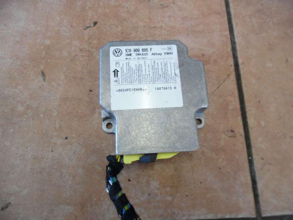 Skoda Fabia II Airbagsteuergerät 1C0909605F