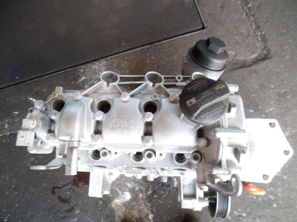 VW Fox 5Z1 1,2L Motor BMD Benziner 163868KM 03D103475E