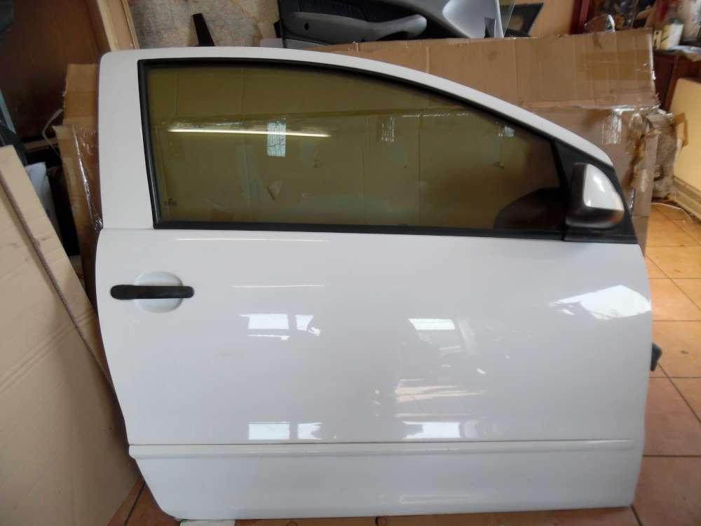 VW Fox 5Z 3-Türer Tür Vorne Rechts Weiß Farbcod : LB9A