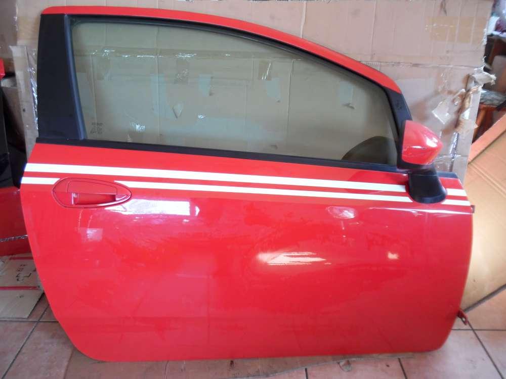 Fiat Punto 199 3-Türer Tür Vorne Rechts Rot Farbcod : 176/A