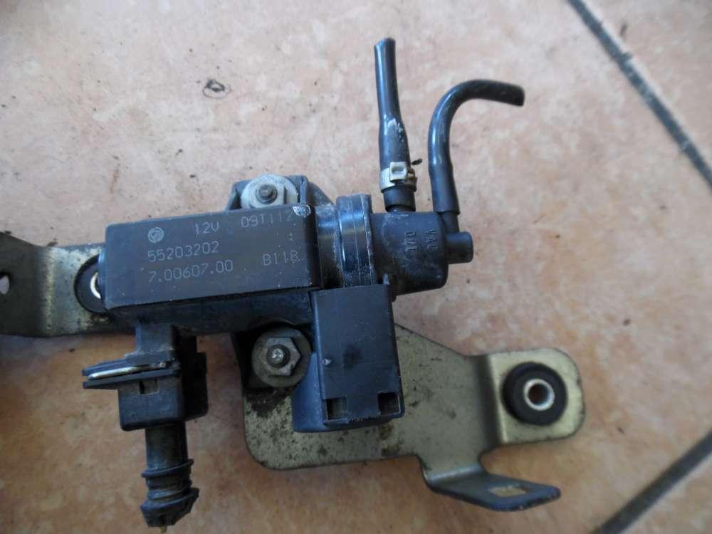 Fiat Punto 199 Druckwandler AGR Steuerventil Ventil 55203202