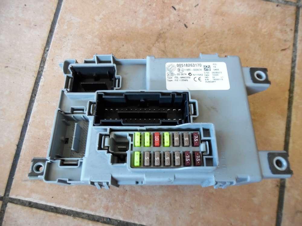 Fiat Punto 199 Steuergerät Sicherungskasten 00518263170