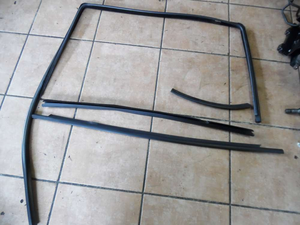 Opel Zafira A Fensterdichtung Scheibendichtung Hinten Rechts