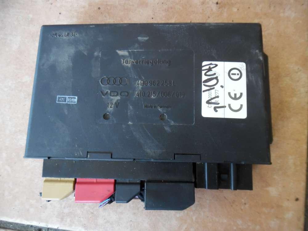 Audi A6 4B Steuergerät Türverriegelung Komforsteuergerät 4B0962258L