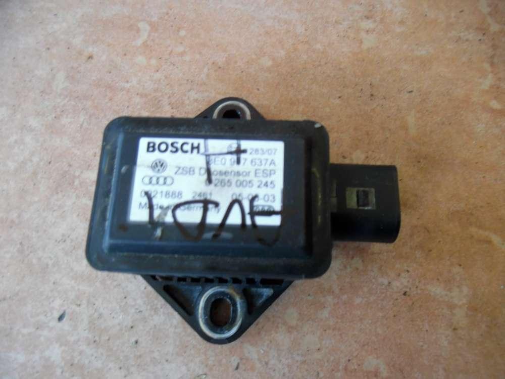Audi A6 4B ESP Drehratensensor 8E0907637A Bosch  0265005245