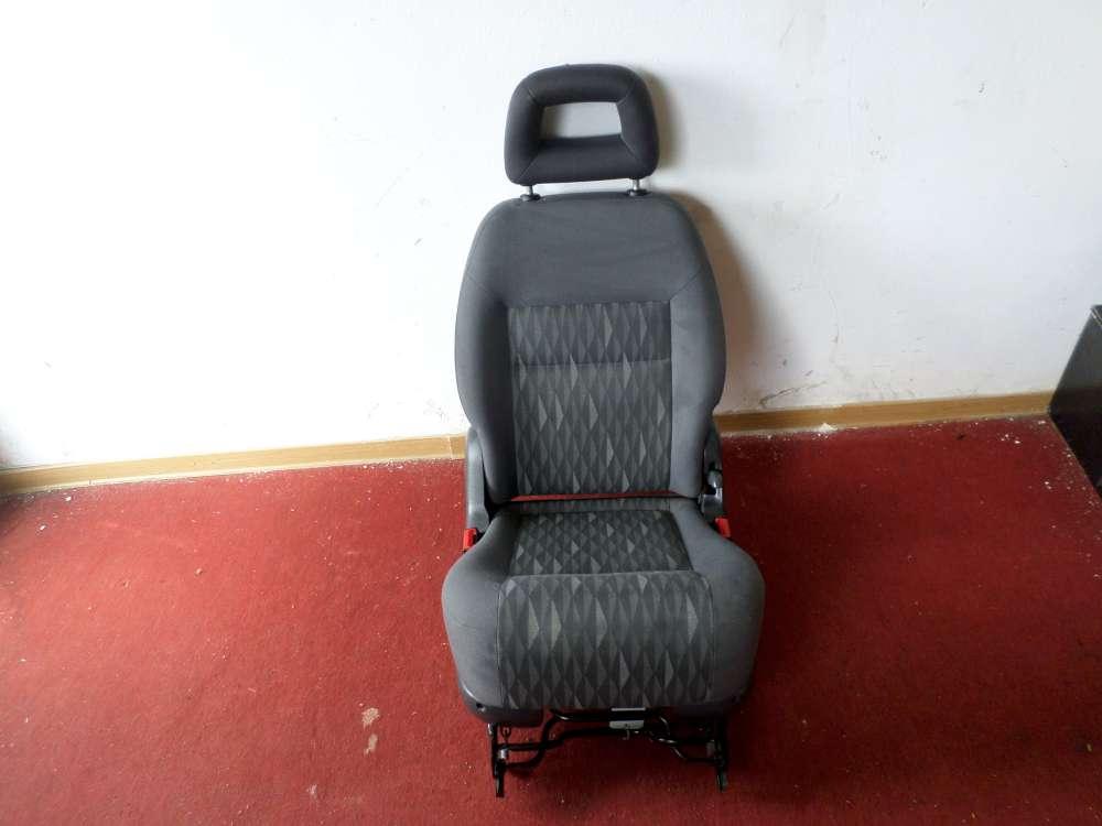 Orginal VW Sharan Sitz hinten mitte Farbe grau