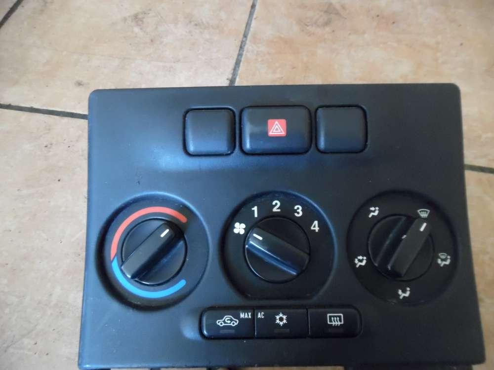 Opel Zafira A Klimabedienteil mit Warnblinker Schalter 024420732