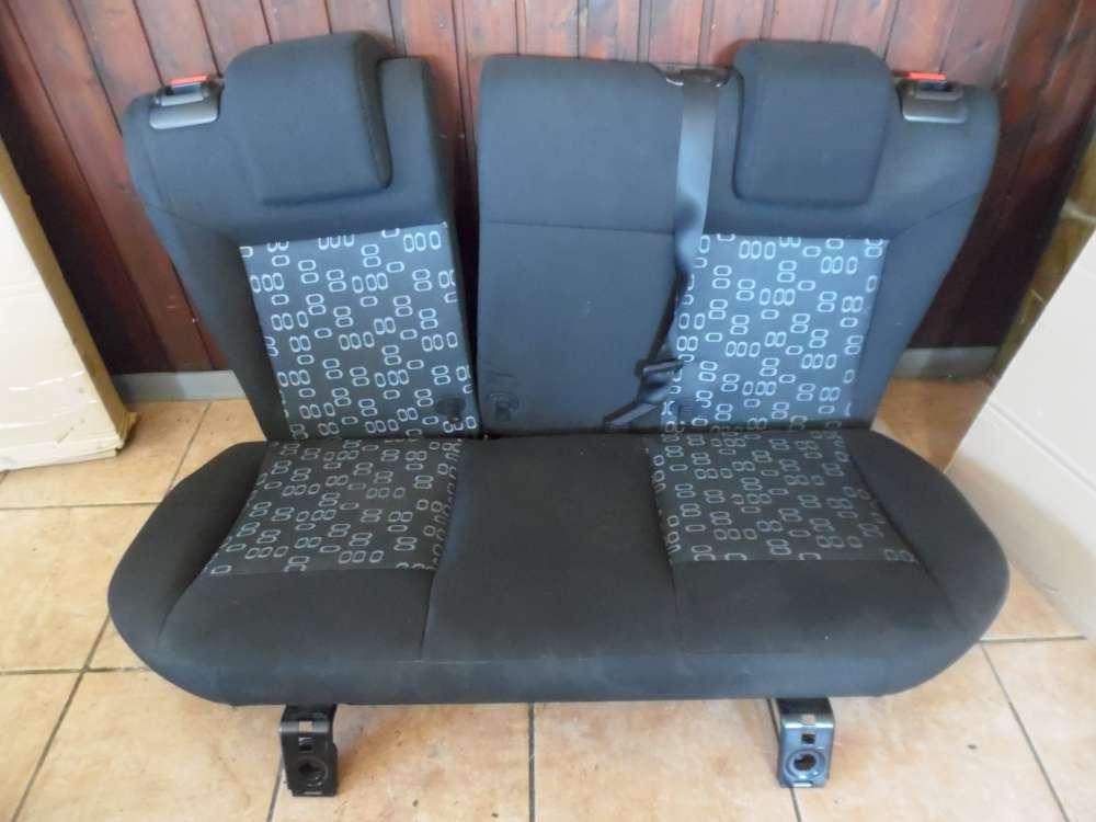 Ford Fiesta V 3-Türer Sitze Rücksitz Rücksitzbank Stoff