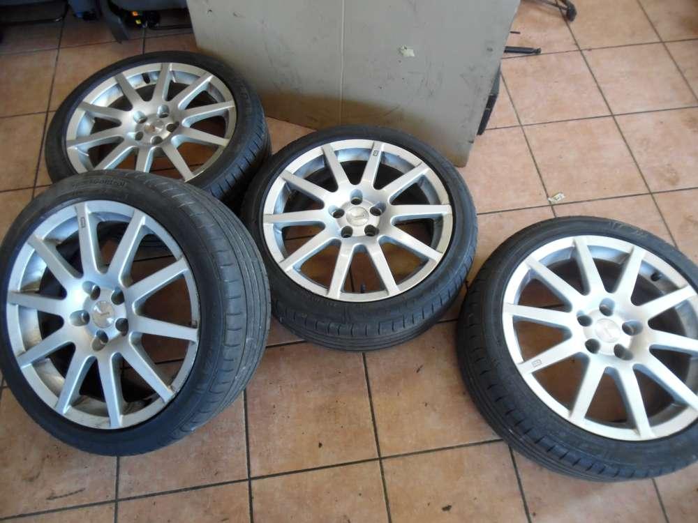 4x Alufelgen mit Reifen Fulda für Alfa Romeo Sommerreifen 215/45 R17 91Y Rondell 7,5Jx17H2  KBA-45835  ET35