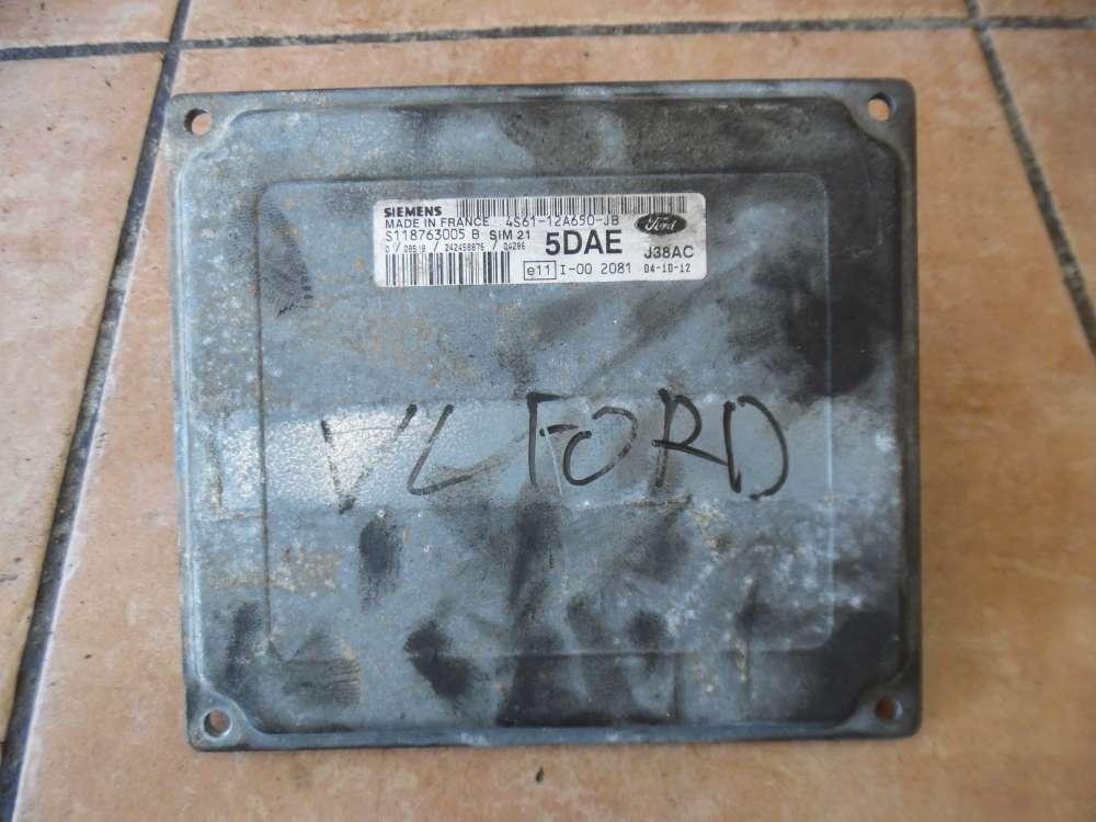 Ford Fiesta V Motorsteuerung Siemens 4S61-12A650-JB  S118763006B