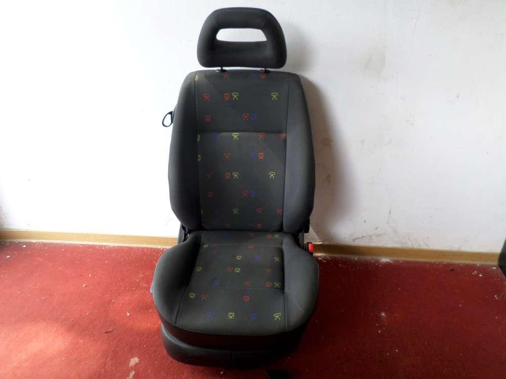 Seat Arosa Sitz vorne Rechts Bj 2000 schwarz 3 Türer