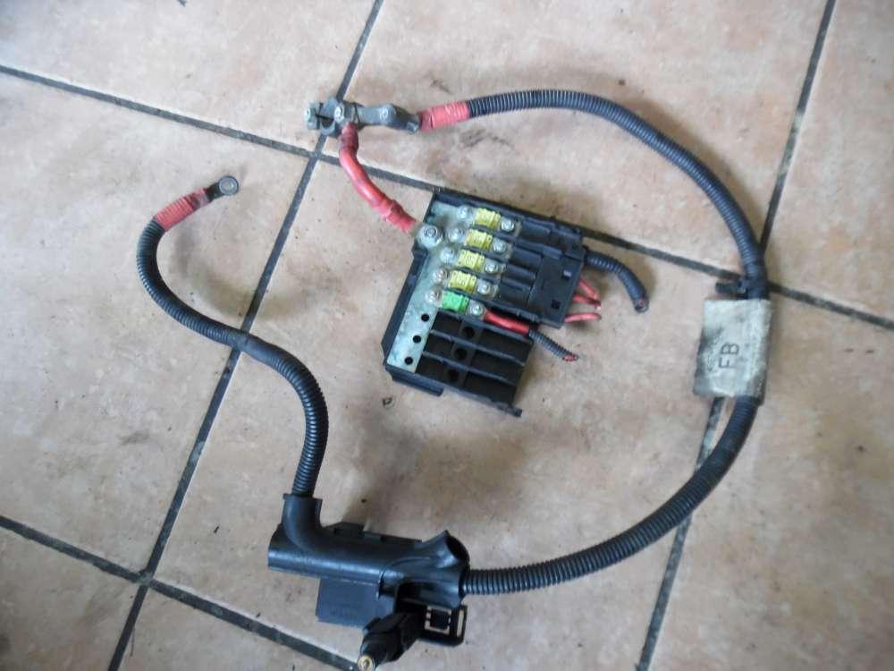 Ford Fiesta V Sicherungsträger Batterie mit Massekabel 4S6T-14300 / 5607001460