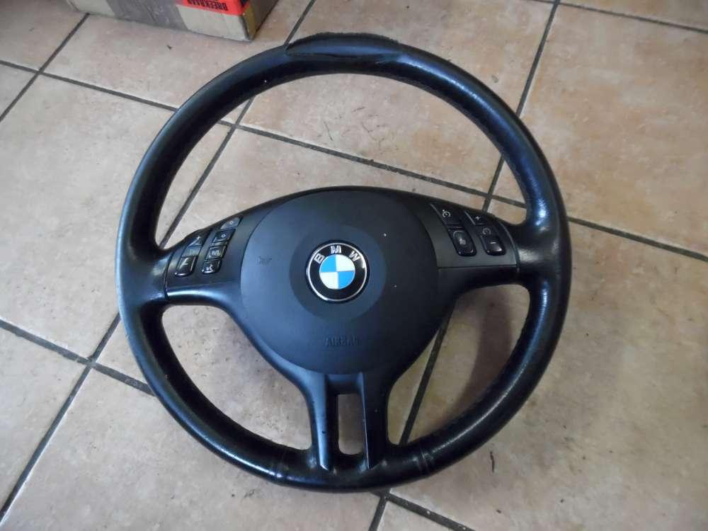 BMW 3er E46 316ti Compact Lenkrad Leder Sport Multifunktion  6760659/9