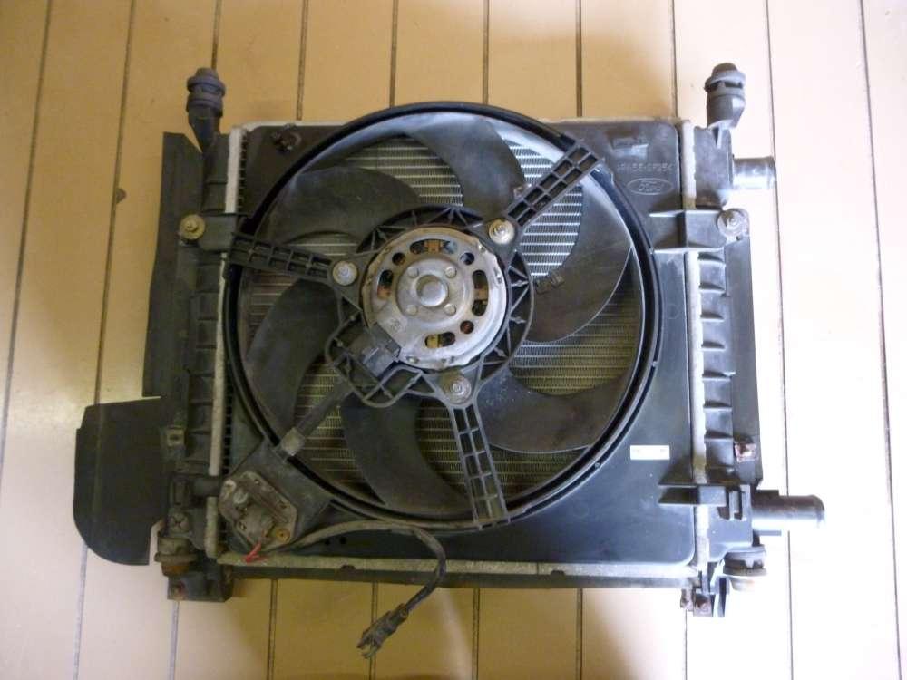 Ford KA Bj 1997 Wasserkühler Kühlerlüfter Klimakühler Lüfter mit Motor 97KB8K620CA.
