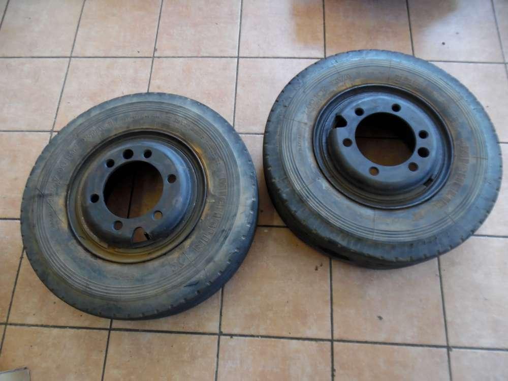 2x Stahlfelge ohne Reifen 5.00S-12