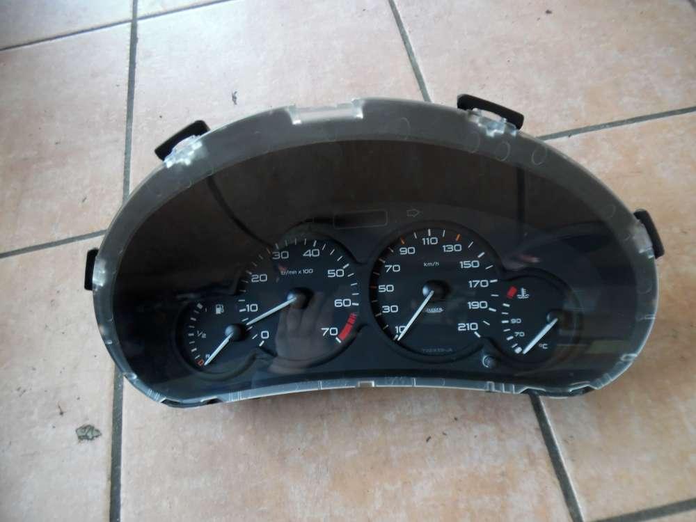 Peugeot 206 Tacho Kombiinstrument 9643401280