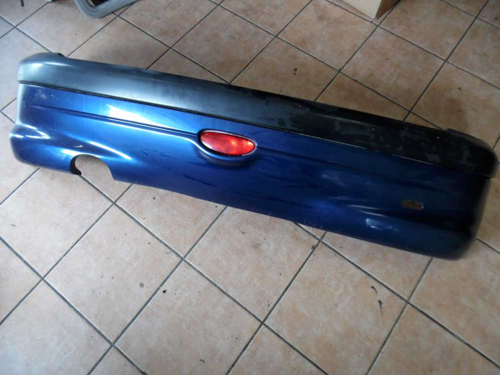 Peugeot 206 3-Türer Stoßstange Hinten blau Farbcod: EGE