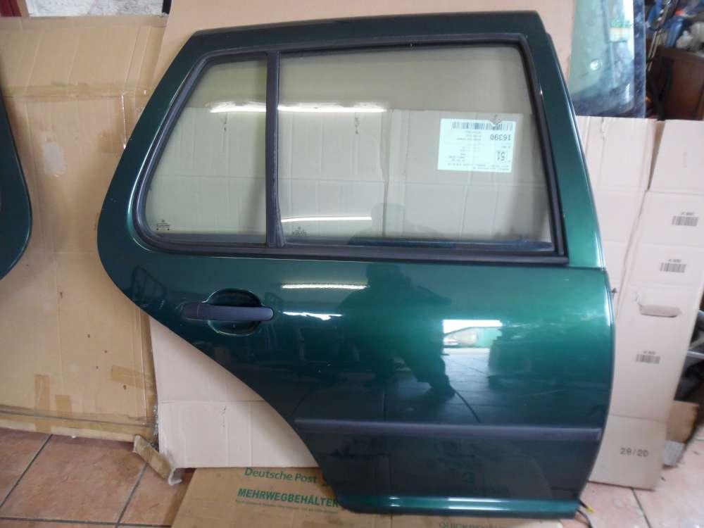VW Golf  IV Tür Hinten Rechts grün Farbcod: LC6M