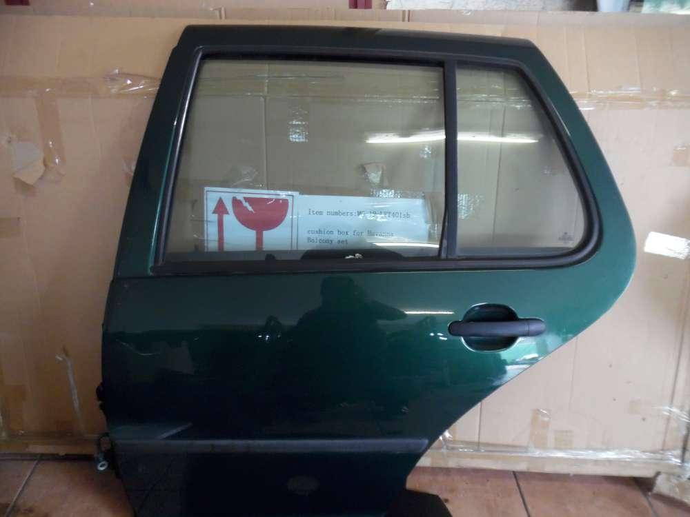 VW Golf  IV Tür Hinten Links grün metallic Farbcod: LC6M