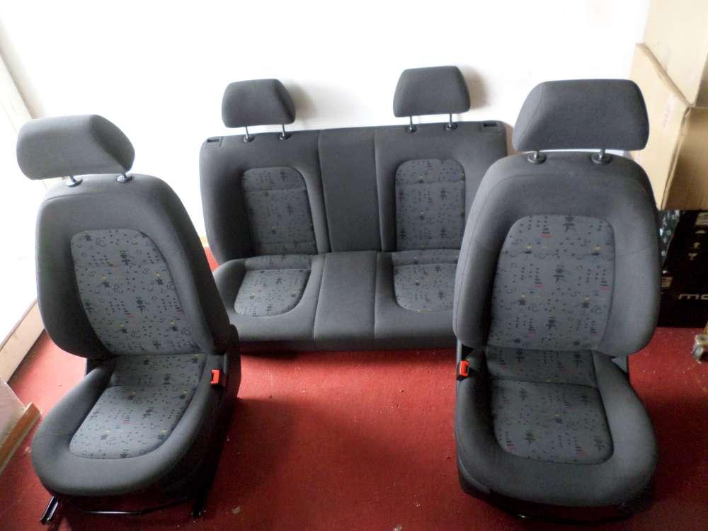 SKODA FABIA 6Y2 Bj.2002 sitze Kompett 4/5-türig, ohne Airbag, Stoff