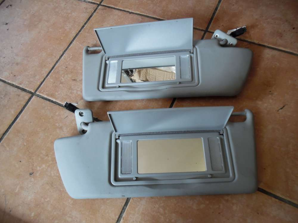 Opel Vectra C Signum Sonnenblende mit Beleuchtung Spiegel