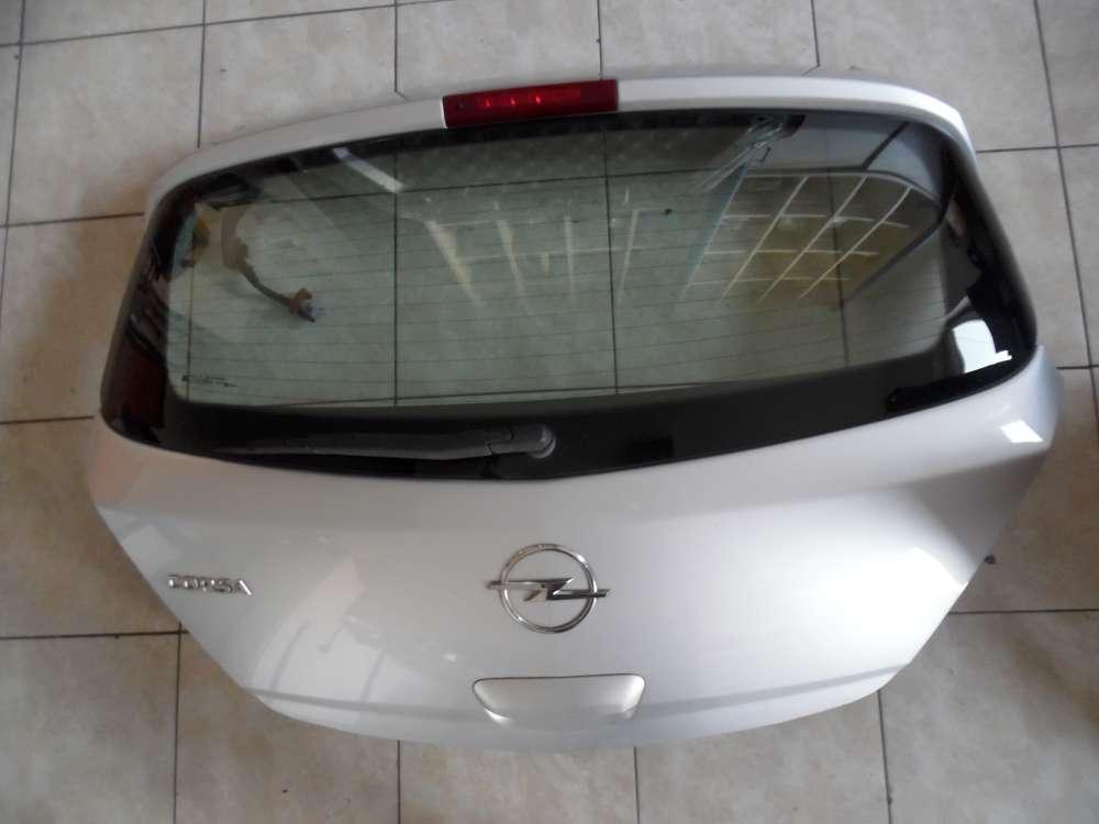 Opel Corsa D 5-Türer Heckklappe grau Farbcod: Z157