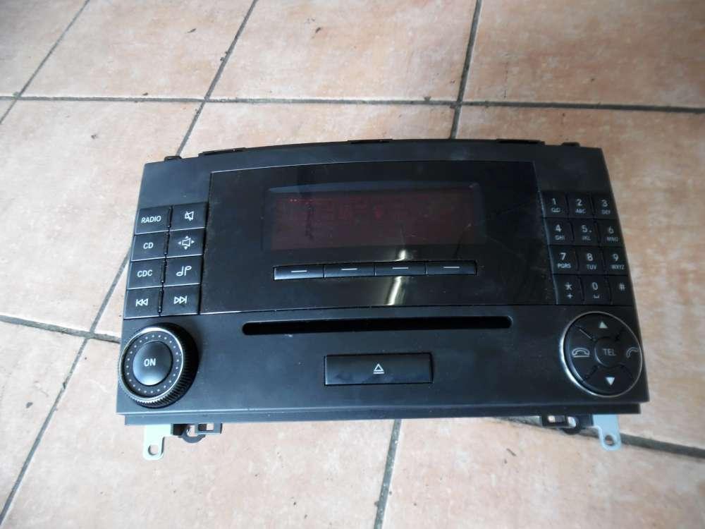 Mercedes A-Klasse W169 Radio CD CD Typ : MF2750 A1698700689