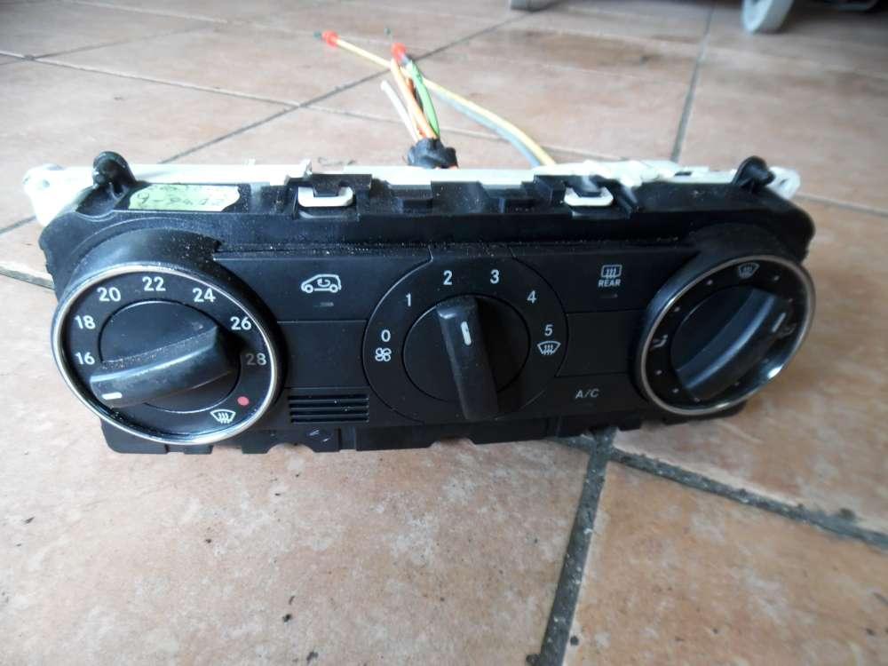 Mercedes A-Klasse W169 Klimabedienteil Heizungsbedienteil 1698301785