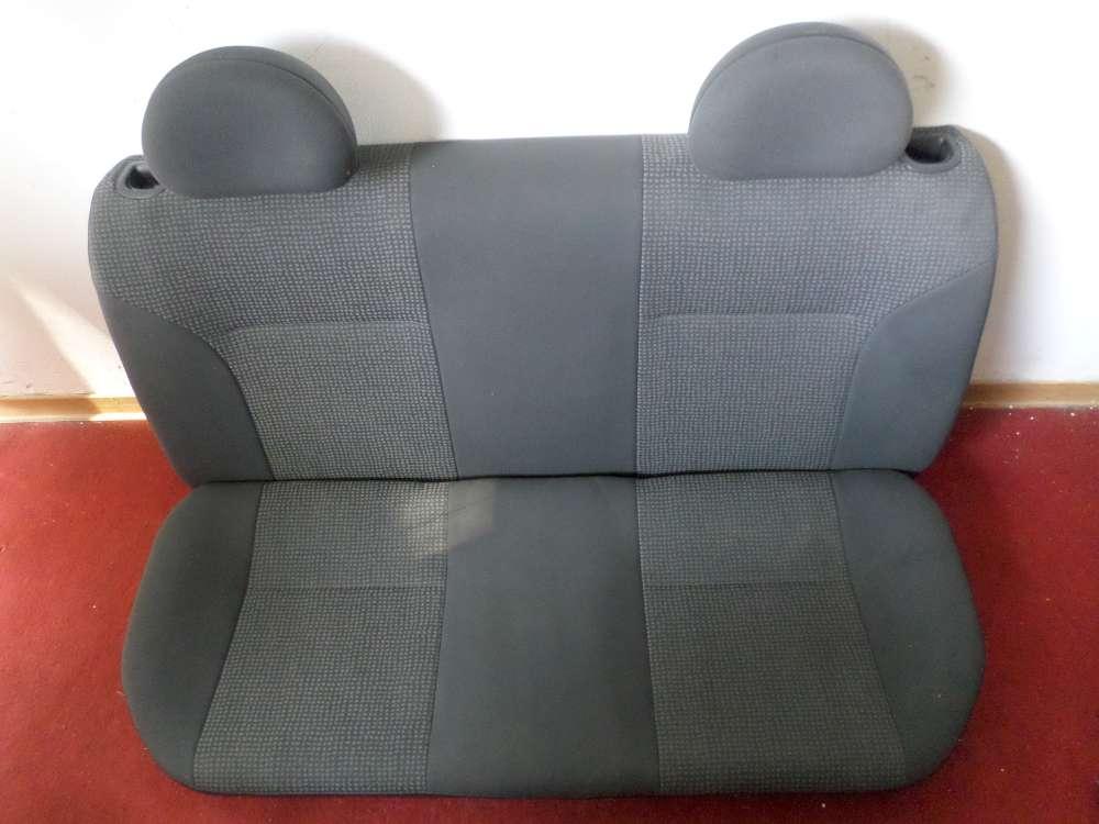 Opel Corsa C Bj.2003 4 türer Rücksitzbank Sitze hinten Farbe Grau