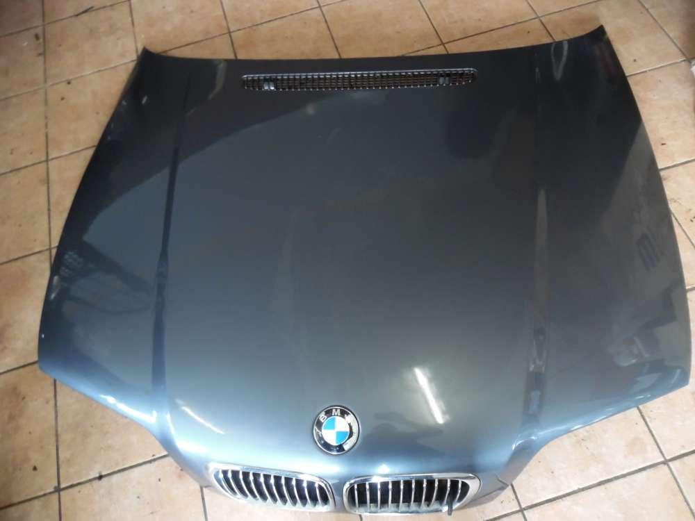 BMW E46 Motorhaube Stahlgrau Metallic Farbcod : 400/7